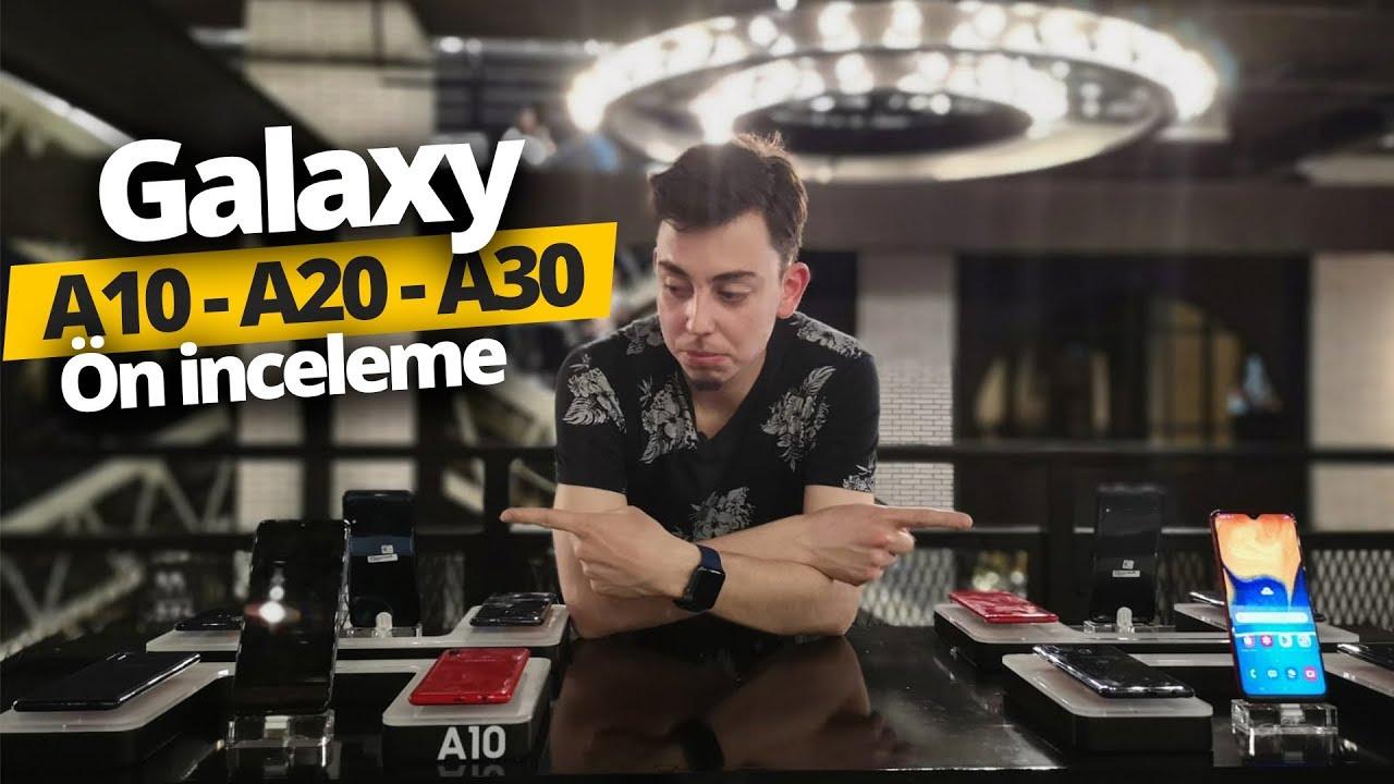 Ekrandan parmak izi özellikli Galaxy A30s kutudan çıkıyor!