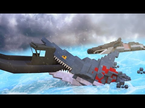 Jaws Movie 2 - Final Shark Attack Rampage! (Minecraft Roleplay) #12
