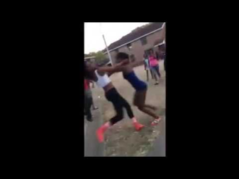 Girl Comes to the Wrong Hood Looking for a Fight, Gets Worked!