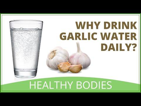 Benefits Of Garlic Water | How To Make Garlic Water