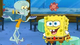 SpongeBob: Krusty Cook-Off - Unlock Squidward -The Best Cooking Games