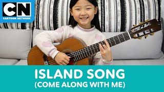 6-Year-Old Plays Adventure Time Island Song | Cartoon Network