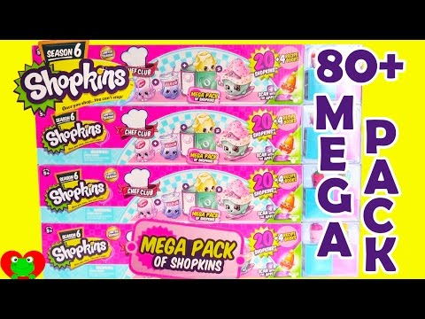 Shopkins Season 6 Mega Packs with Color Changing 12 Pack