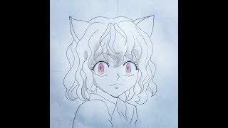 How to draw Neferpitou (HunterxHunter)