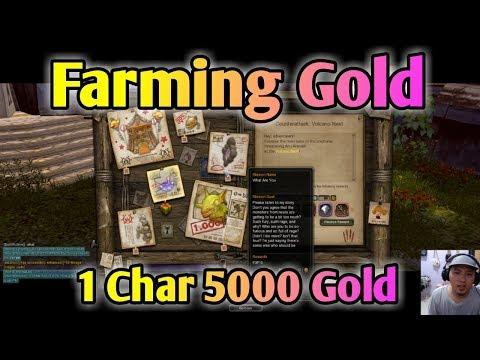 TIPS FARMING GOLD PALING MUDAH UNTUK PEMULA DRAGON NEST SEA