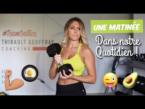 MA MATINÉE FITNESS !! (Courses / quotidien / recette)