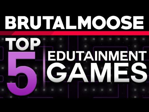 Top 5 Edutainment Games - brutalmoose feat. MatPat