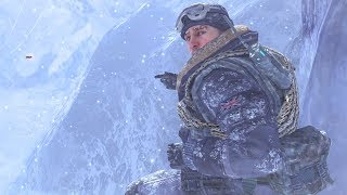 EPIC RUSSIAN AIR FORCE BASE STEALTH MISSION! (AWESOME Mountaintop Snowmobile Chase!)