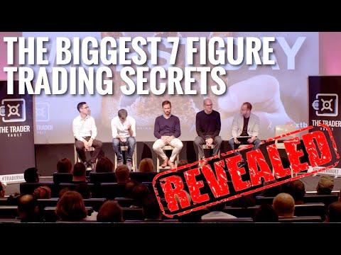 THE BIGGEST 7 FIGURE TRADER SECRETS REVEALED