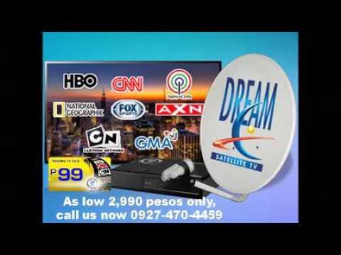 Dream Satellite TV plug - YouTube