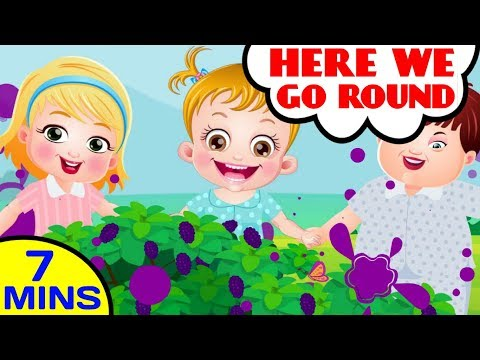 Here We Go Round - Mulberry Bush - Nursery Rhymes By Baby Hazel