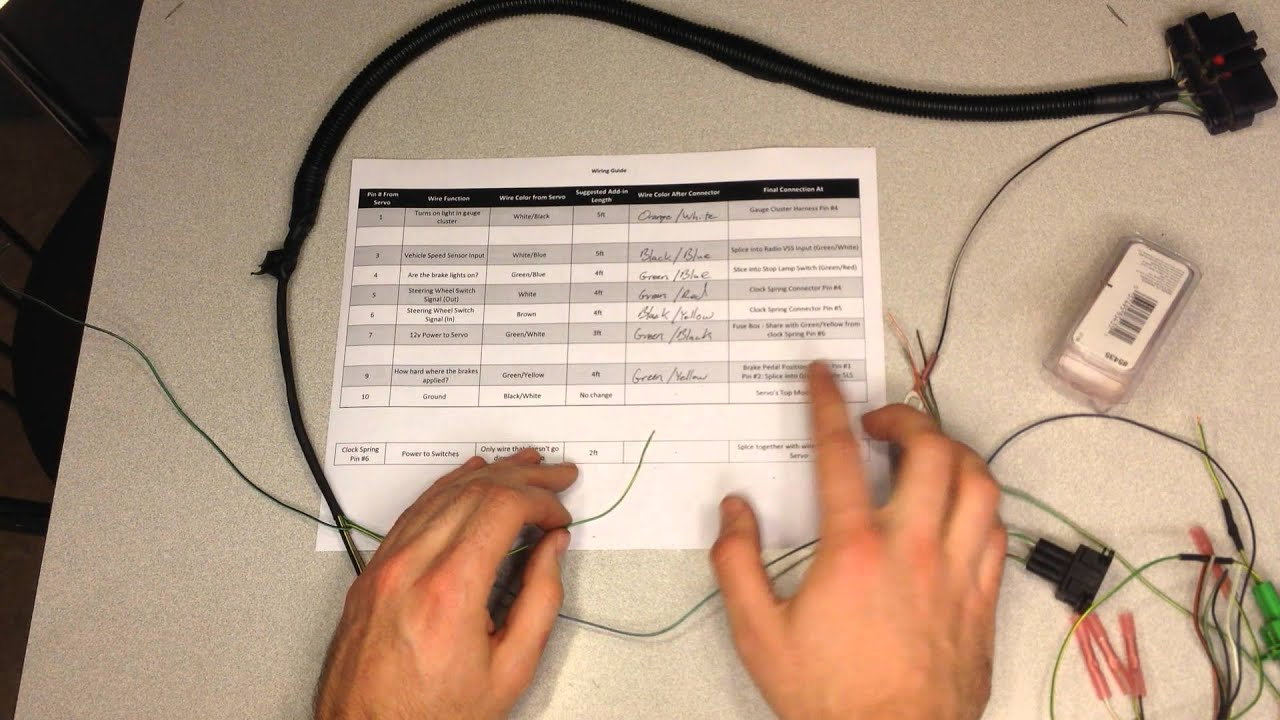how to install cruise control on a 00 04 ford focus part 3 wiring 1995 ford f150 cruise control wiring diagram at Ford Cruise Control Wiring Diagram