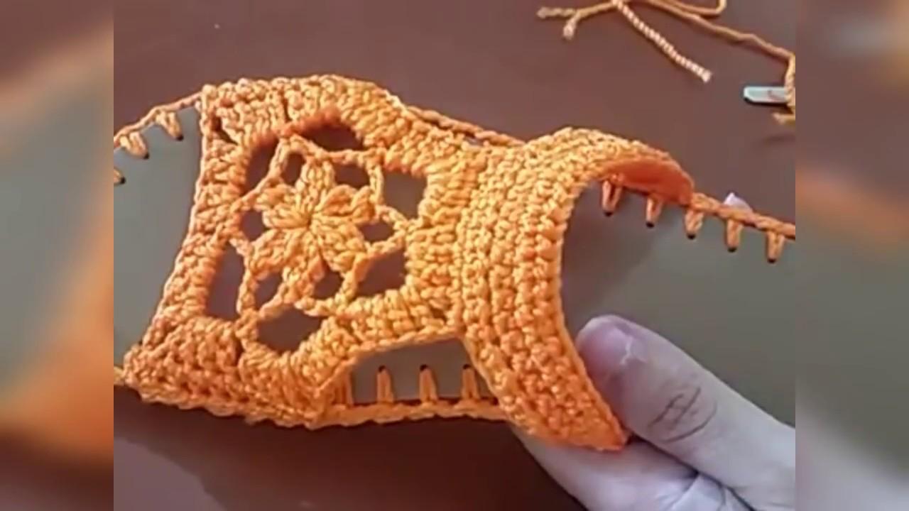 541c36d1a6 Rasteirinha em crochê com solado em PVC com linha telacril - YouTube