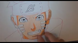 How To Draw Naruto Sage Of 6 Paths Mode | Wie zeichnet man Naruto im 6 Pfade Modus