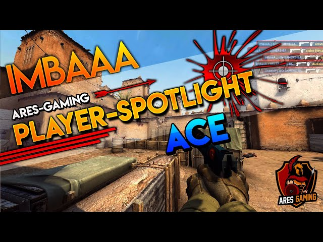 Player-Spotlight: imbaaA PISTOL ACE on de_dust2 CS:GO by Ares Gaming