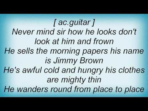 Skeeter Davis - Jimmy Brown The Newsboy Lyrics