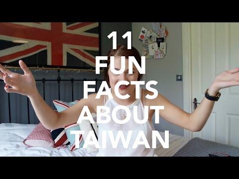 11 Fun Facts About Taiwan
