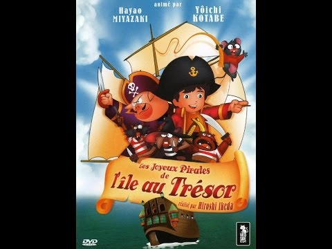 Les joyeux pirates de l 39 le au tr sor film complet en francais animation youtube - Dessins de pirates ...