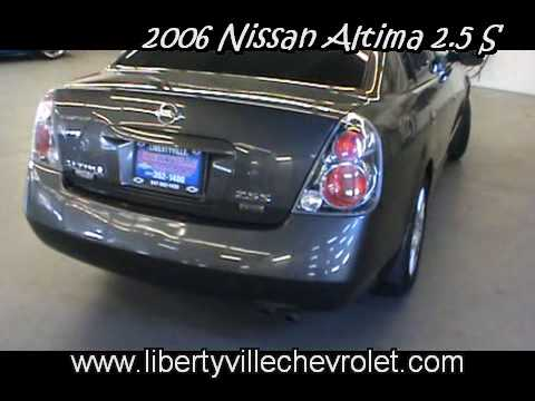 2006 Nissan Altima 2.5 S   YouTube