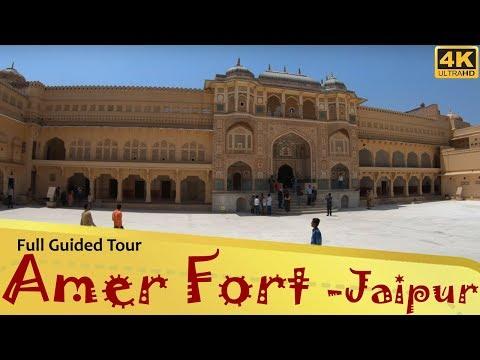 """Amer Fort"" अमेर किला Jaipur Rajasthan Full Guided"