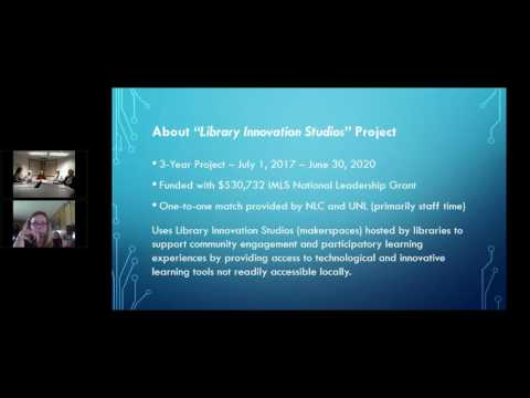 NCompass Live: Library Innovation Studios - Project Introduction and Application Process
