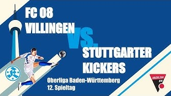 Oberliga BW, 12. Spieltag, FC 08 Villingen vs. Stuttgarter Kickers-Spielbericht