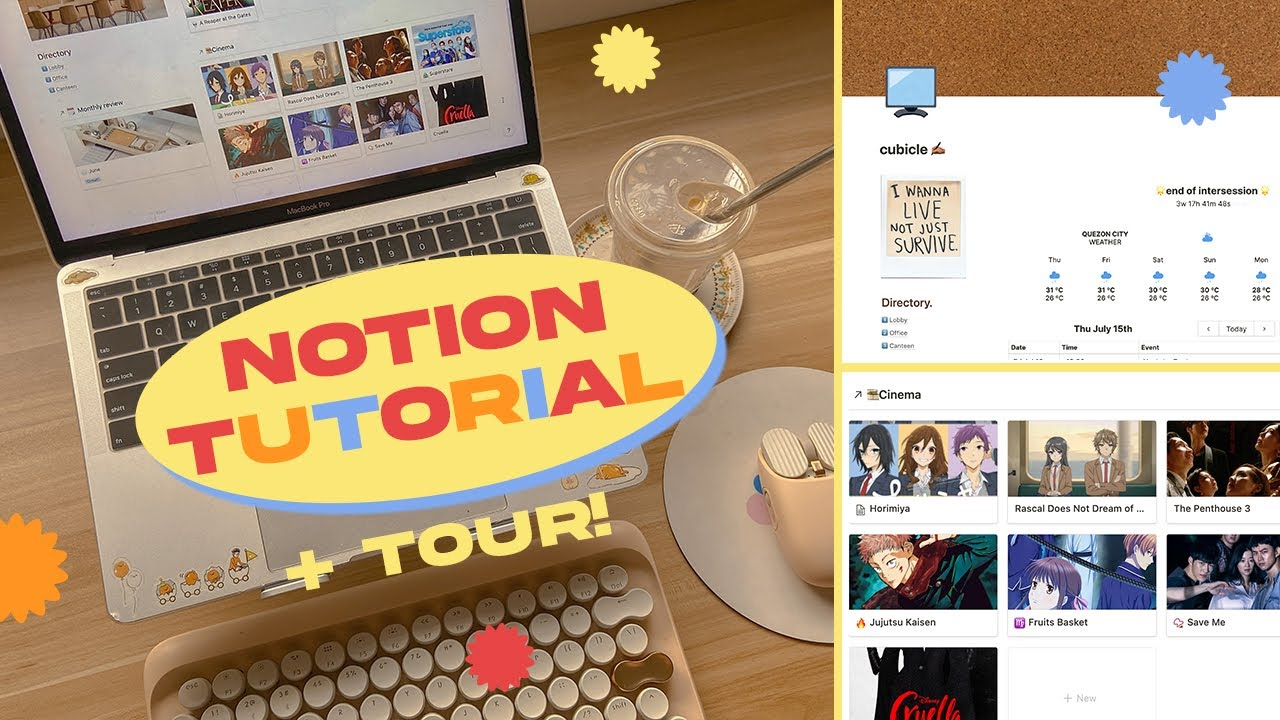 🍞🍳 how to set up your notion dashboard / tips + free template!