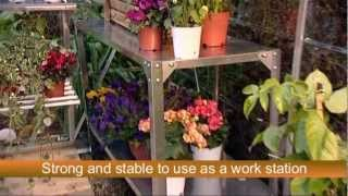Palram Greenhouse Accessories - Steel Work Bench