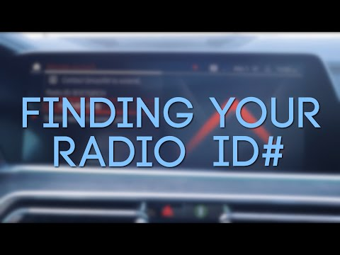 How To Find Your Vehicle's Radio ID For Sirius XM