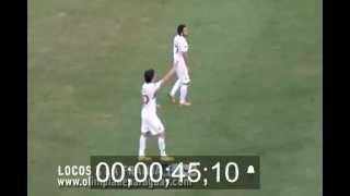 Se Emociono el Camarografo con el gol de PZ10 a los 25 pagantes (Locos x la franja)