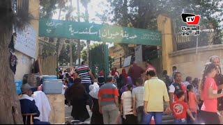 إقبال على «حديقة الحيوان» بالأسكندرية.. و«زوار»: تستاهل أكثر من ٥ جنيه