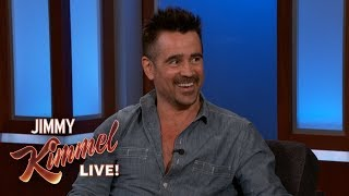 Colin Farrell on New Movie Dumbo