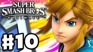 Link! - Super Smash Bros Ultimate - Gameplay Walkthrough Part 10 (Nintendo Switch)