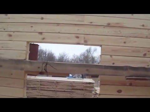 Дом из бруса 150*150 -некоторые секреты строительства смотреть видео онлайн