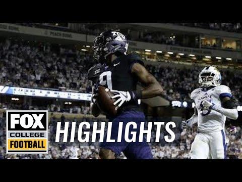 Kansas vs TCU   Highlights   FOX COLLEGE FOOTBALL