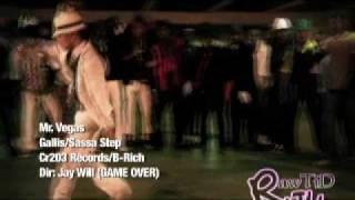 Mr Vegas Gallis/Sasa Step Music Video