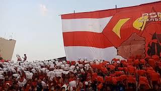 Koreo Dalam Laga PSM VS AREMA FC.