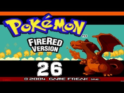 Pokemon FireRed Walkthough #26 - Overpowering the Elite 4 with an Elite Team