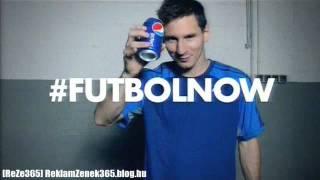 [ReZe365] Pepsi Cola Foci VB Reklám 2014 (#Futbolnow - Messi)