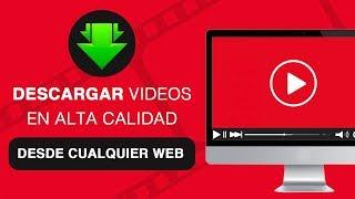 Descargar VIDEOS de CUALQUIER Página Web con Google Chrome 2018 en HD