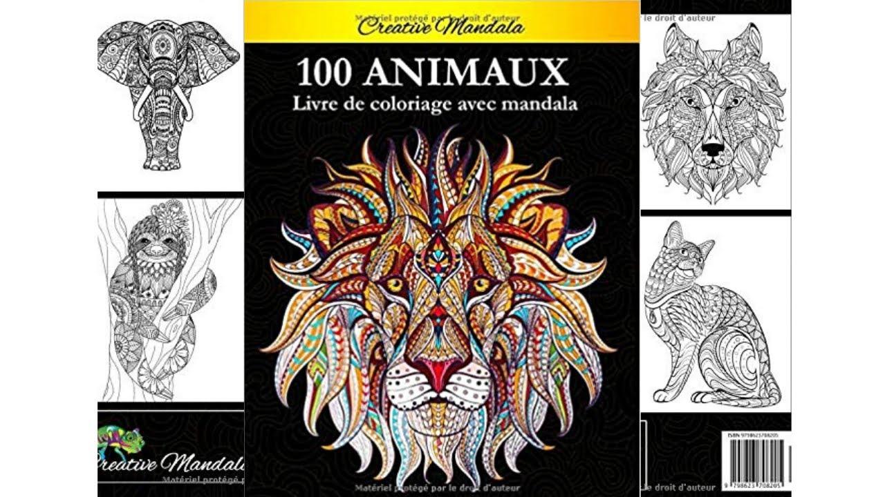 30 Mandalas Animaux - Livre de coloriage pour adultes - Creative