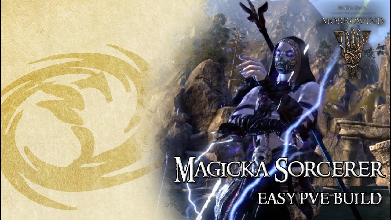ESO Build | Magicka Sorcerer PvE Easy Build (No Trial Gear) // Clockwork  City