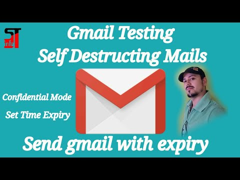 Send gmail with expiry   gmail Testing self destructing Mails, confidential mode