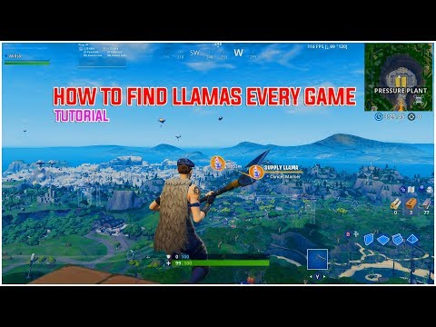 Wills   How to be like Comikazie and Spot Llamas EVERY GAME   (Tutorial) thumbnail