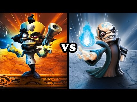 Skylanders Imaginators - Dr. Neo Cortex VS Super Kaos - EVIL VS EVIL