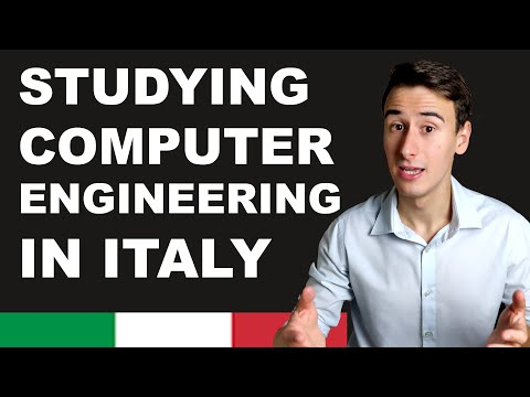 Studying Computer Engineering in Italy