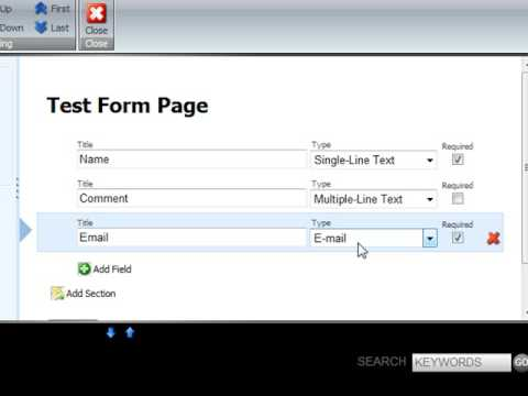 Sitecore Webforms for Marketers Module
