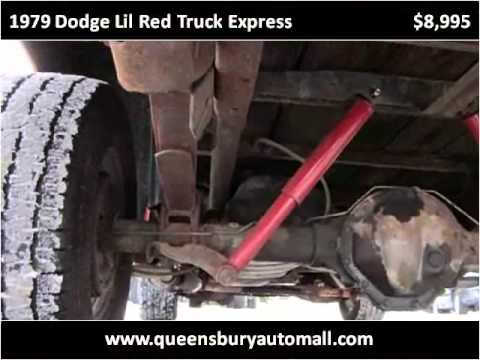 1979 Dodge Lil Red Truck Express available from Queensbury A