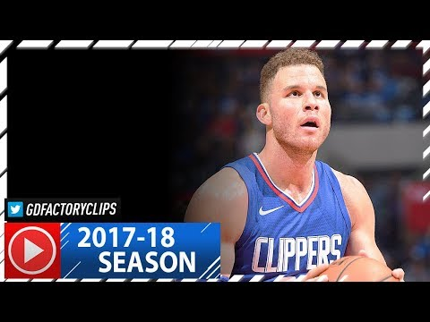 Blake Griffin Full Highlights vs Suns (2017.10.21) - 29 Pts, 8 Reb in 3 Qtrs!