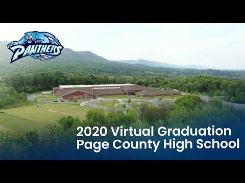 2020 Page County High School Graduation